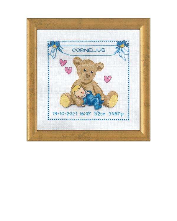Bilde Bamse baby blå