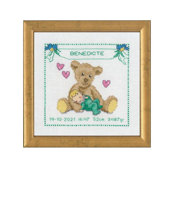 Bilde Bamse baby grønn