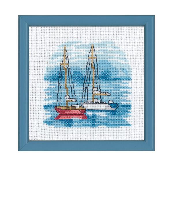 Bild Auf dem blauen Meer