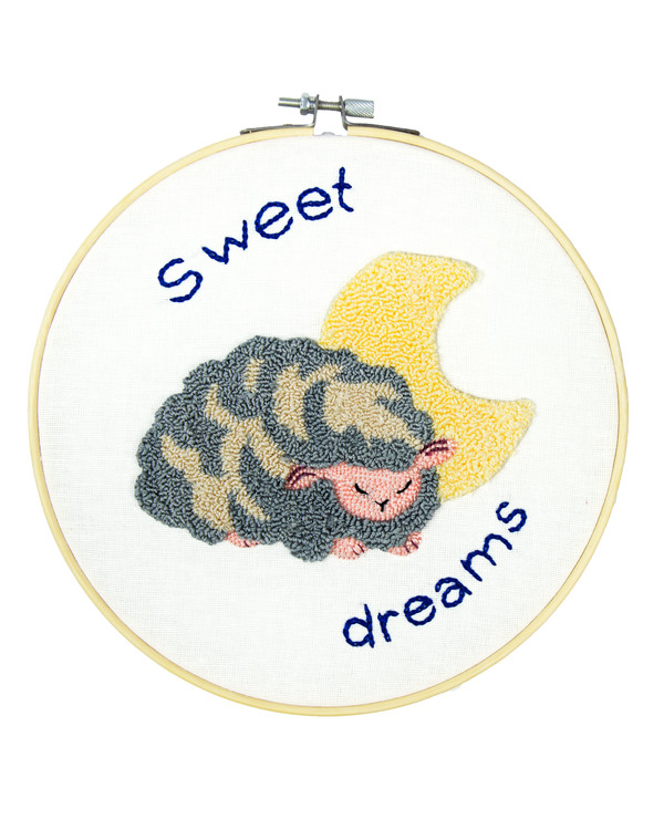 Punch needle kit Sweet dreams
