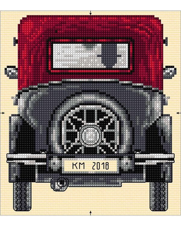 Tyyny Vanha auto