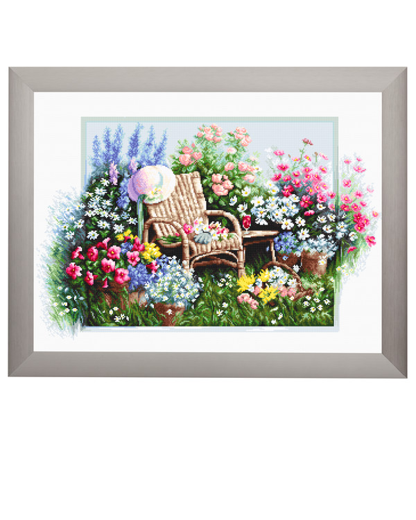 Billede Blomstrende have