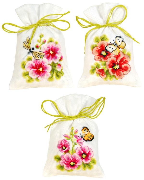 Doftpåsar Blommor 3-pack