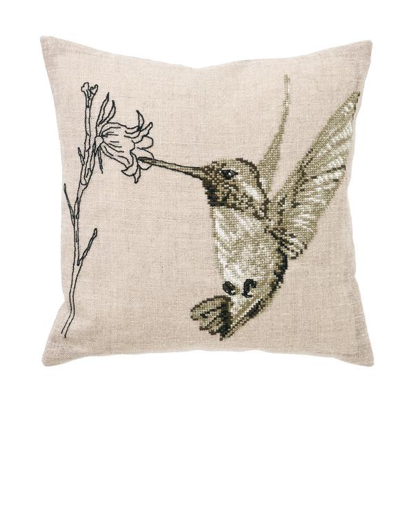 Broderikit Kudde kolibri