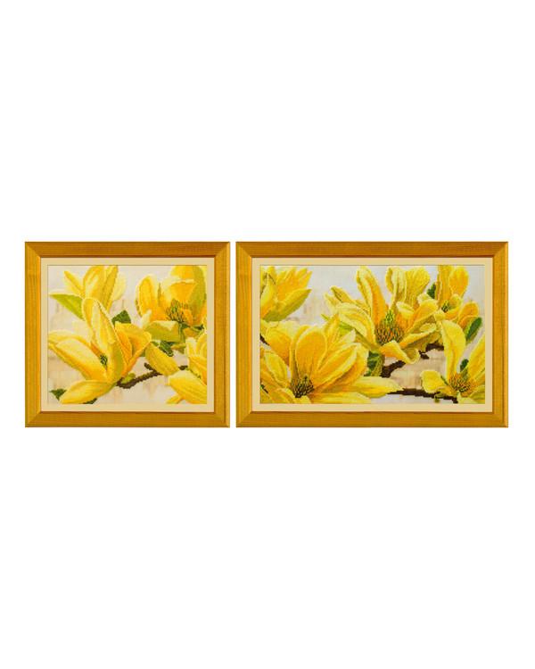 Bilde Gul magnolia 2 deler