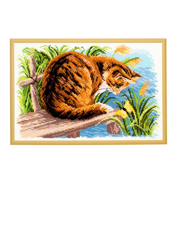 Bilde Katten ved elven