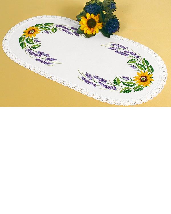 Duk Lavender med eller utan garn