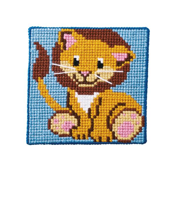 Broderipakke Strameibilde Løve