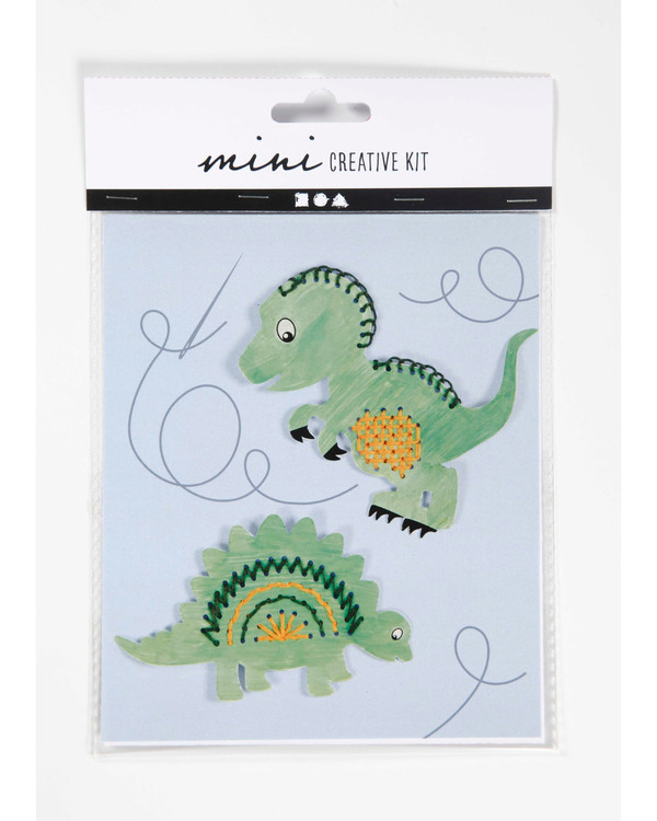 Stickpackung Dinosaurier 2-er Pack