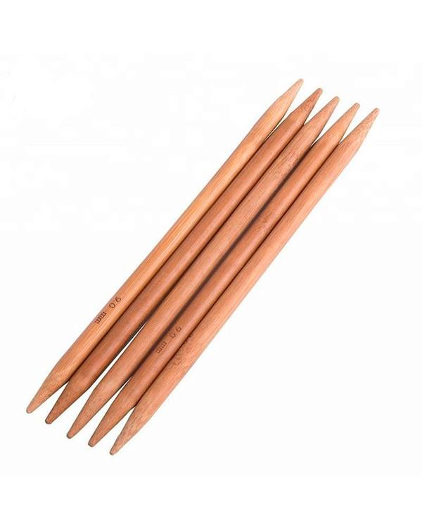 Strømpepinner bambus 15 cm