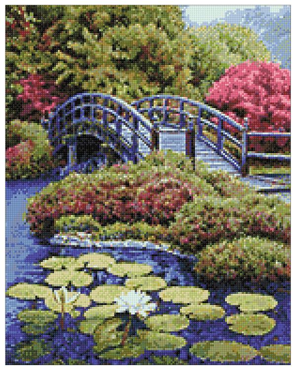 Diamond painting Japanilainen puutarha