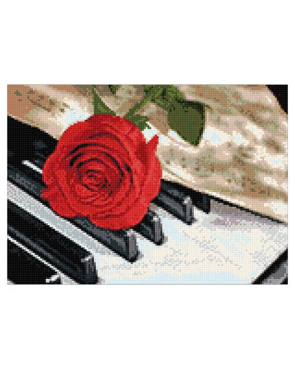 Diamond painting Rosenmusik