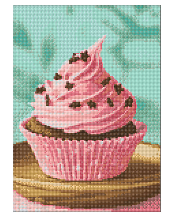 Diamond painting Cupcake