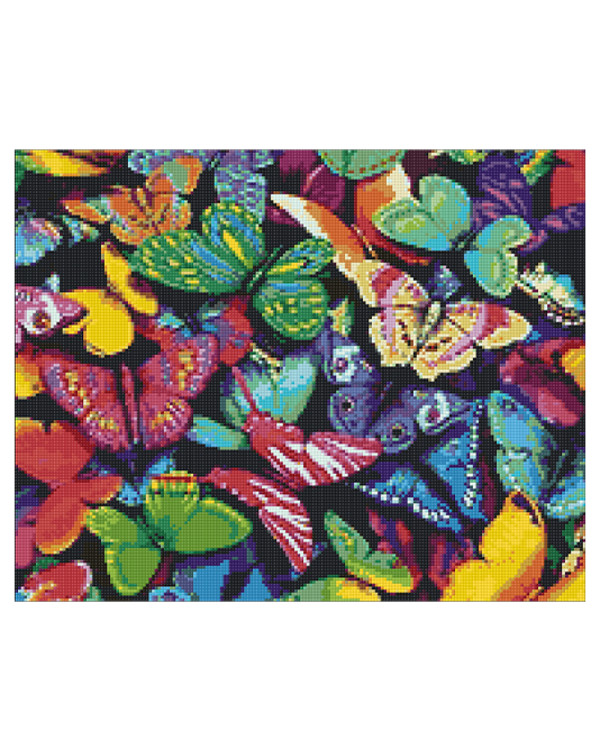 Diamond painting Schmetterlinge