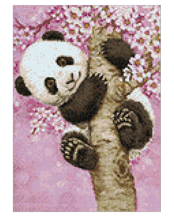 Diamond painting Söpö panda