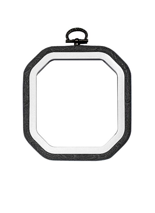 Flexiramme svart 13x13 cm