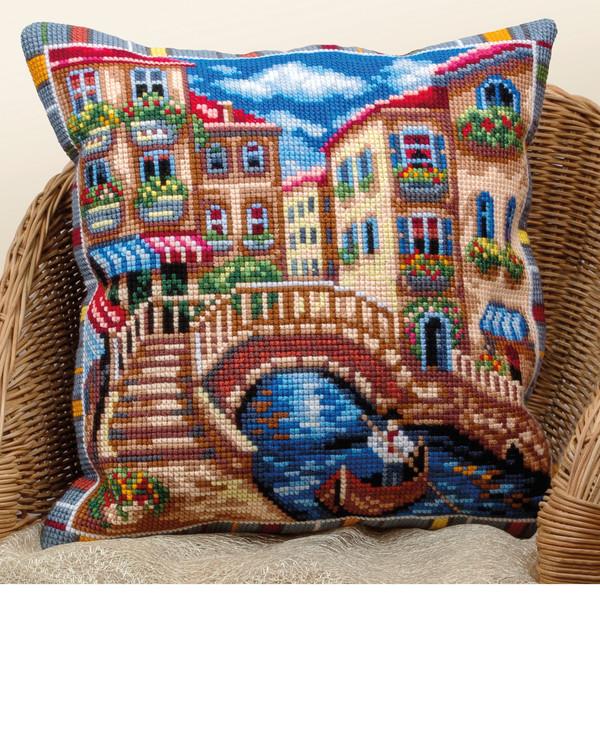 Kirjontapakkaus Tyynynpäällinen Venetsia