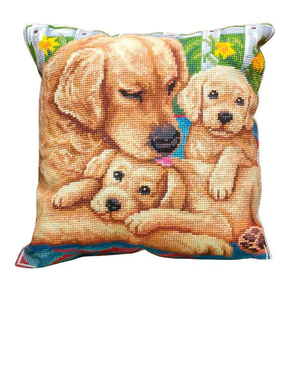 Kirjontapakkaus Tyynynpäällinen Turvallisuus