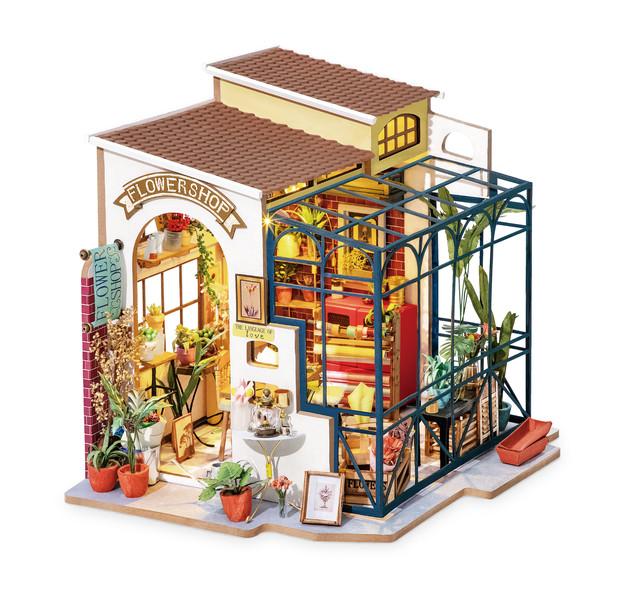 Miniatyyrihuone Emily's Flowershop