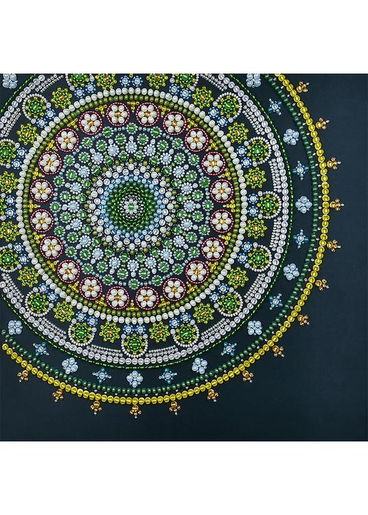 Perlebroderi Mandala