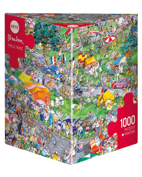 Pussel Cartoon Cycle race 1000 bitar