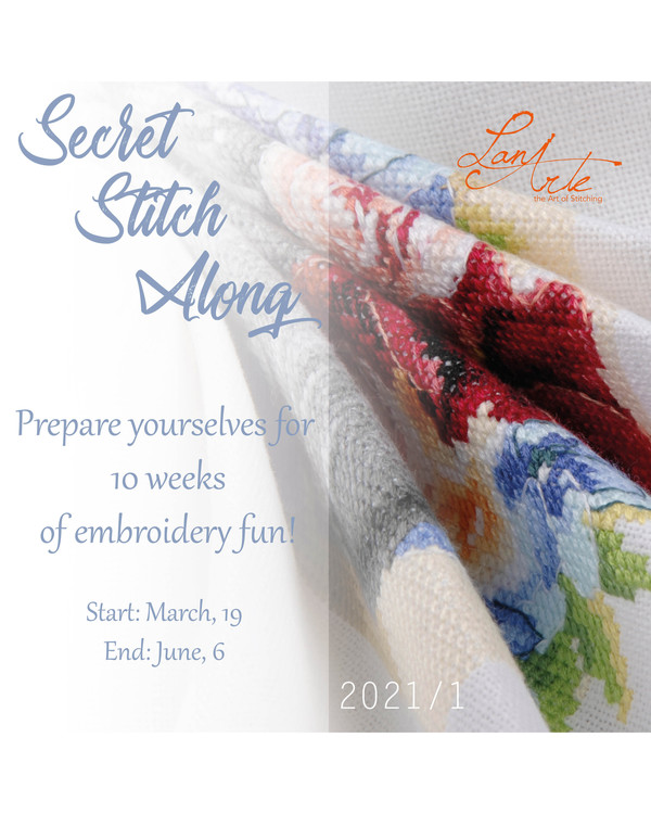 Secret Stitch Along Lanarte 2021 #1