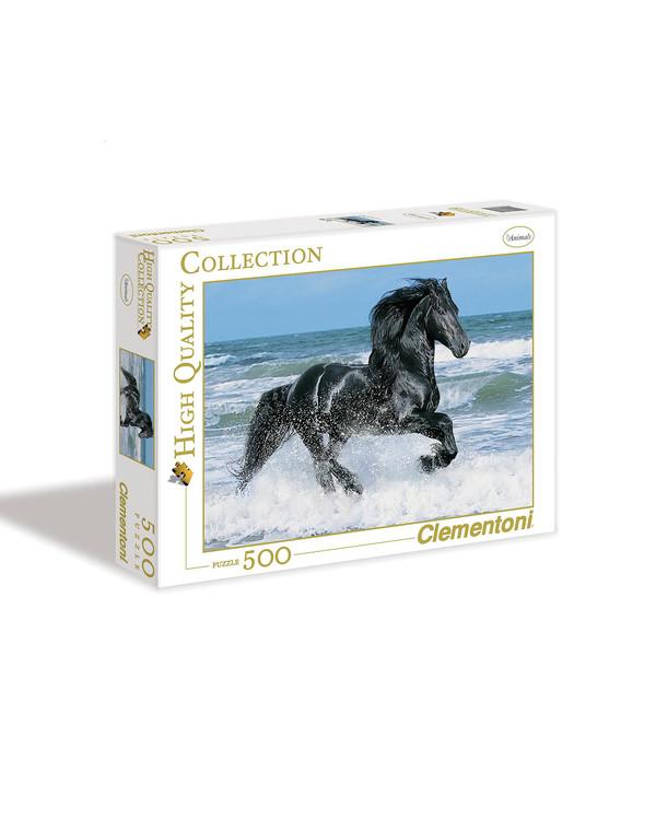 Palapeli Black Horse 500 palaa