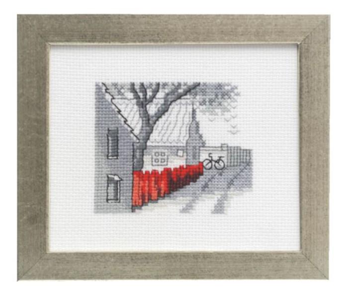 Bild Roter Zaun