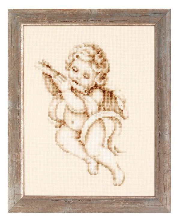 Bilde Engel med fløyte