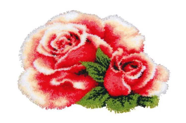 Ryijymatto Ihana ruusu