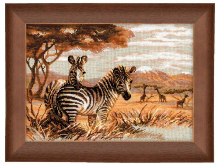 Bilde Zebraer på savannen