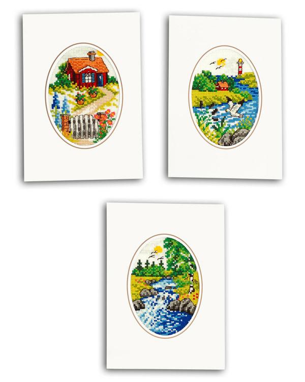 Karten Sommer 3-er Pack