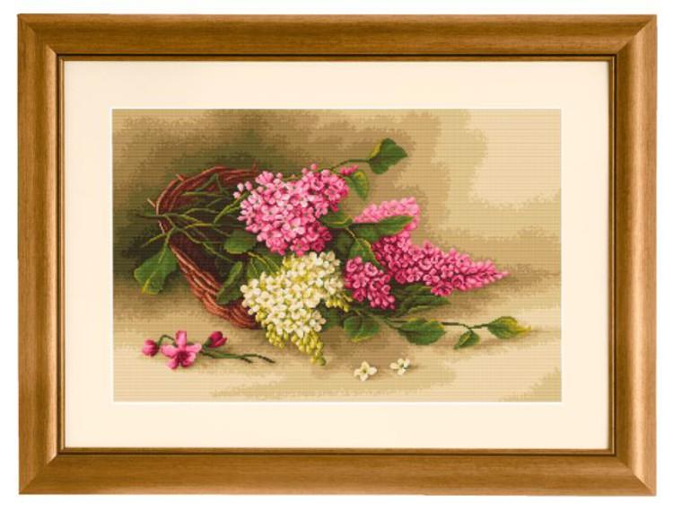 Bilde En kurv med blomster