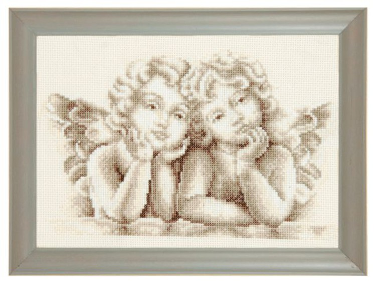 Taulu Kaksi pientä enkeliä