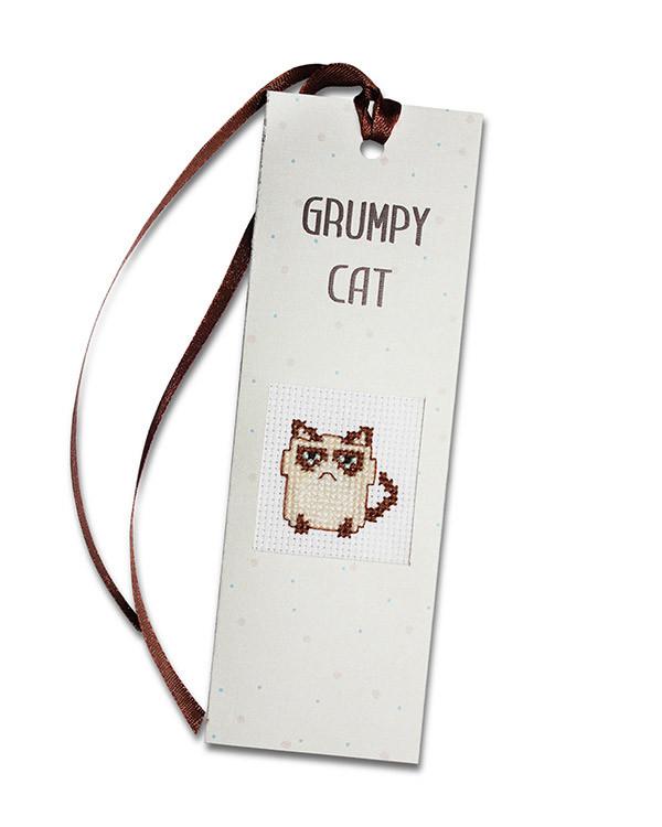 Bokmärke Grumpy Cat