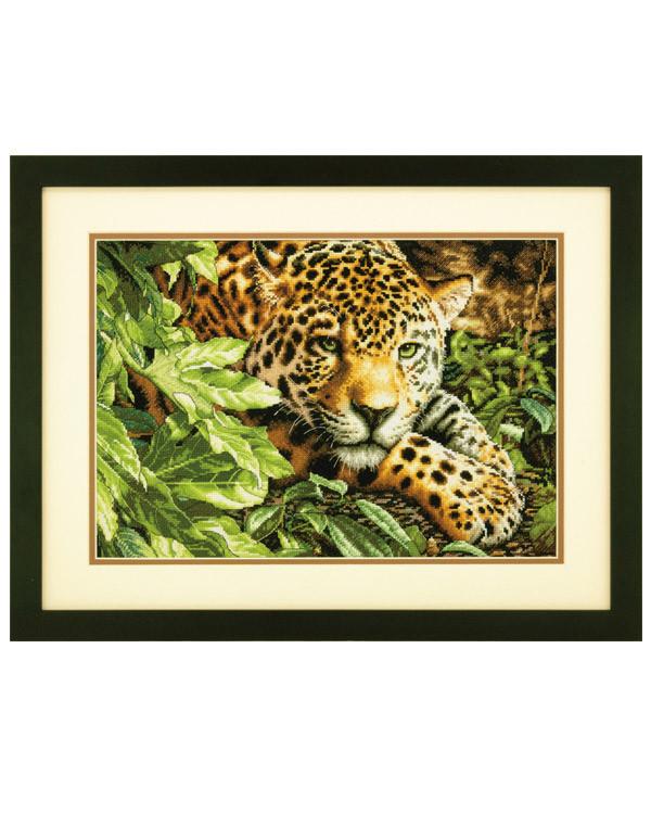 Taulu Lepäävä leopardi