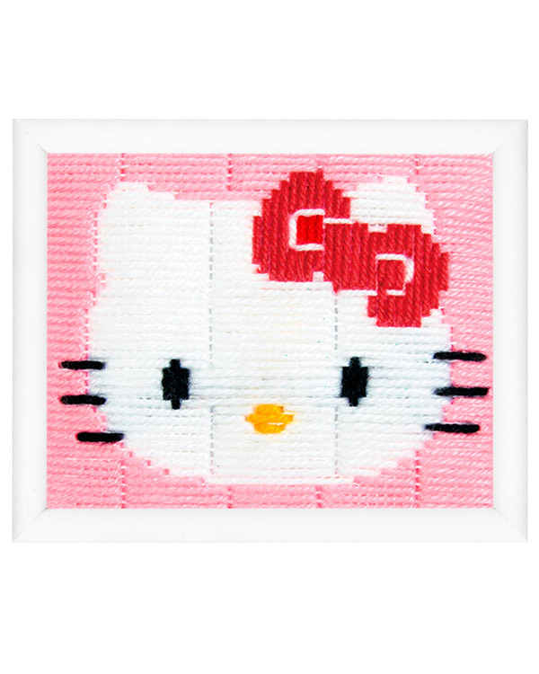 Langstichbild Hello Kitty