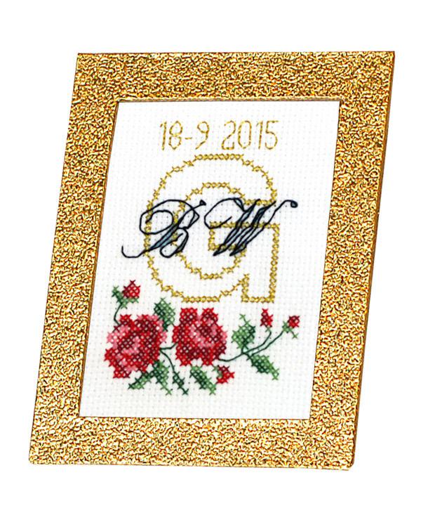 Stickerei Gratulation für Photoalbum
