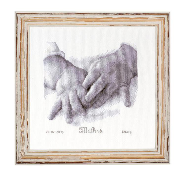 Fødselsbilde Ti små fingrer