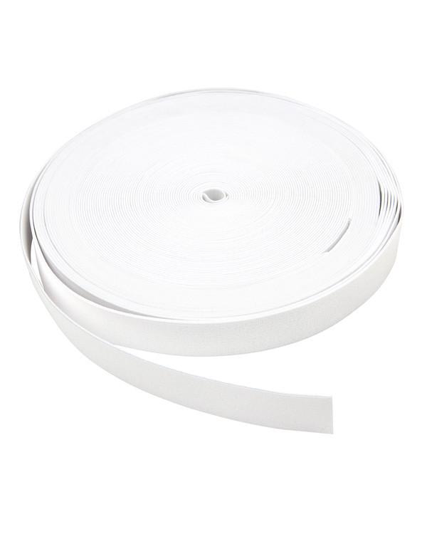 Strikk i metervare 25 mm hvit