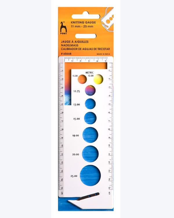 Mätbricka 11-25 mm