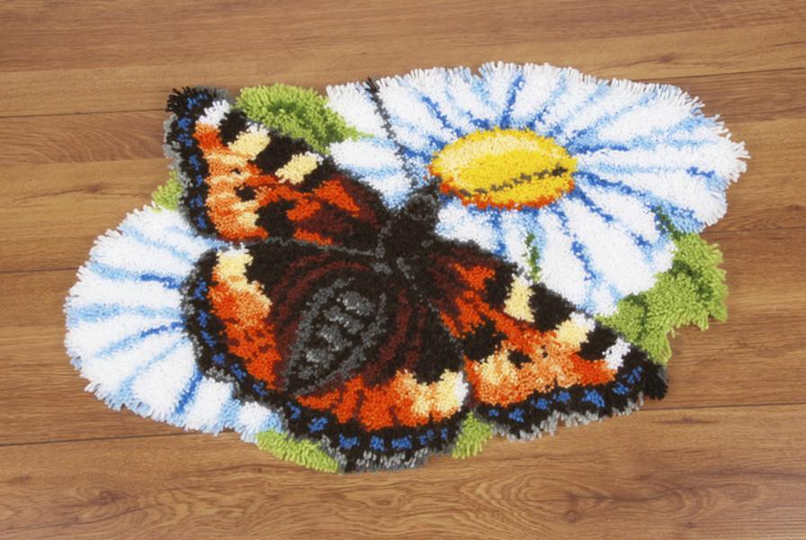 Ryatæppe Smuk sommerfugl