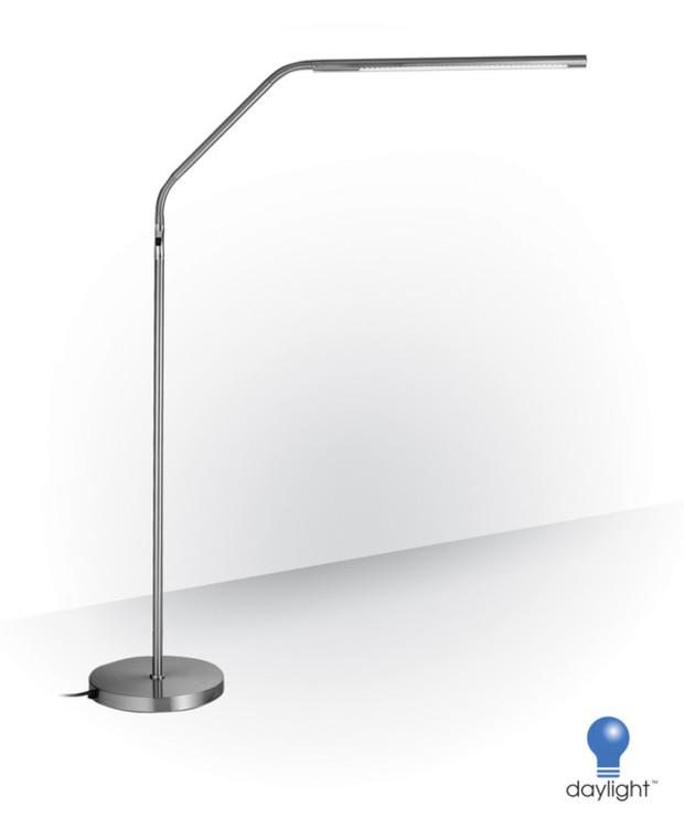 LED Slimline golvlampa Daylight