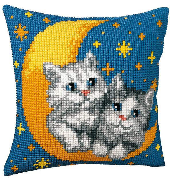 Kissen Mondkatzen