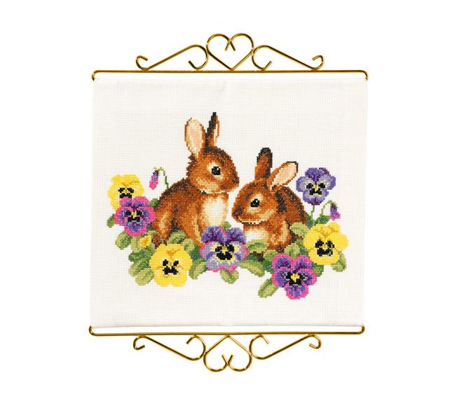 Vægbillede Kaninunger