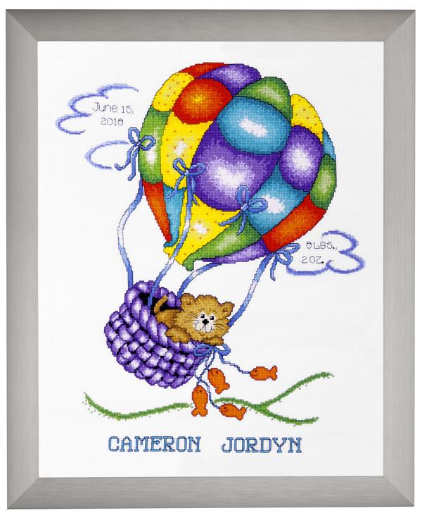 Fødselsbillede Luftballon