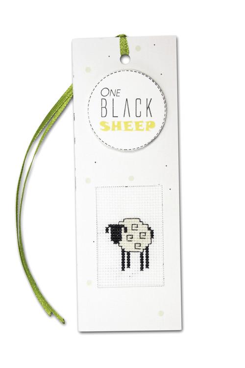 Kirjanmerkki Musta Lammas