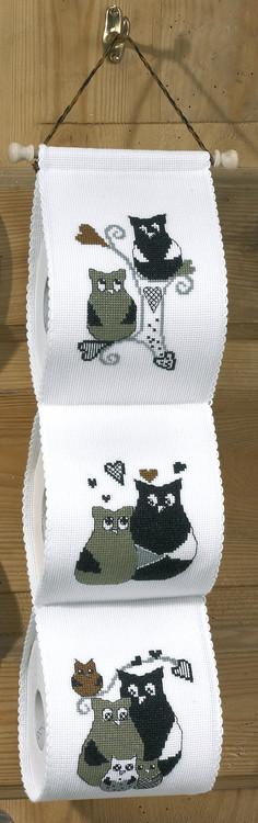 Toalettrullholder Kjærlighetshistorie