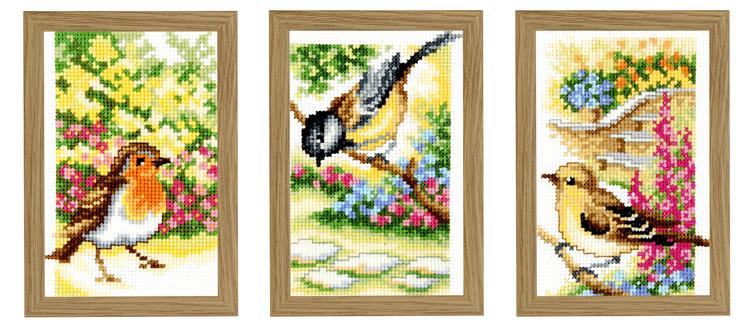 Billeder Fugletrio 3-pak