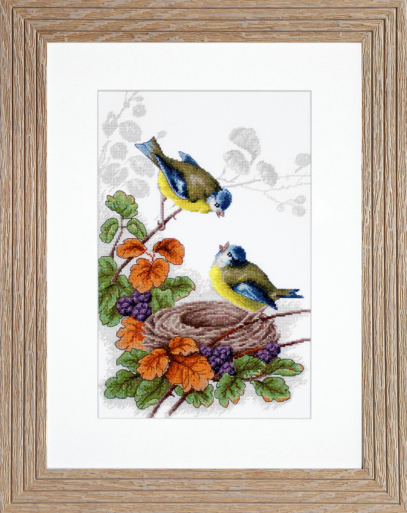 Bild Verliebte Vögel